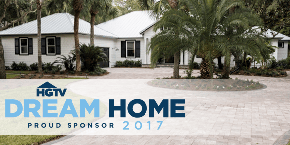 Belgard is a proud sponsor of the HGTV Dream Home Giveaway 2017