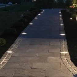 Intergral Pavelux paver lights